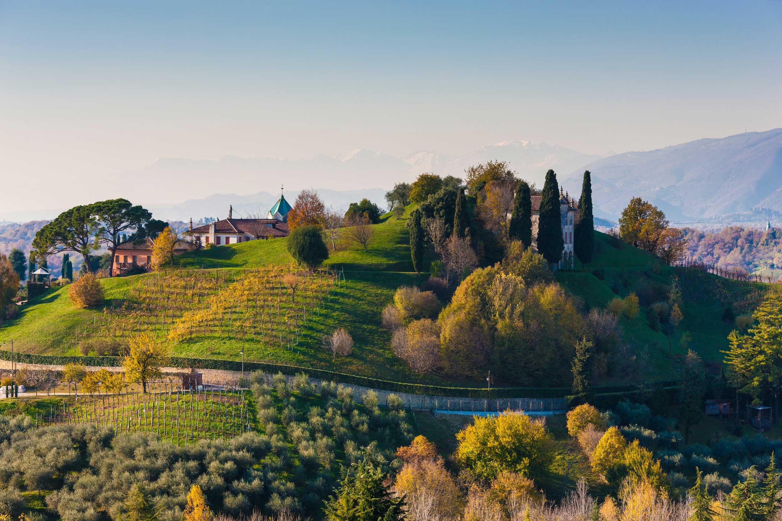 Prosecco wine region a new Unesco world heritage + Asolo & Bassano